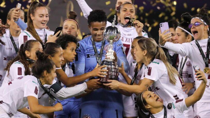 Ferroviaria campeón de la Copa Libertadores Femenina