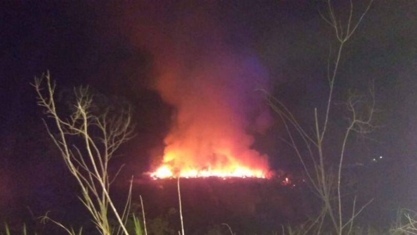 En invierno, el pasto seco favorece los focos de incendios en Misiones