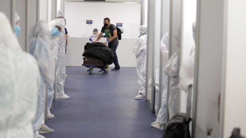 Se flexibilizó el cupo de pasajeros que pueden ingresar al país