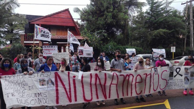 Marcharon por la aparición de Candela y piden justicia para Fiorella