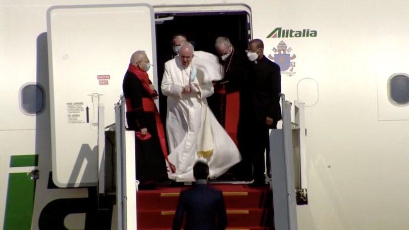 El papa Francisco inicia histórica visita a Irak