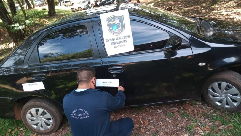 Iguazú: fue a hacer la verificación y le secuestraron el auto