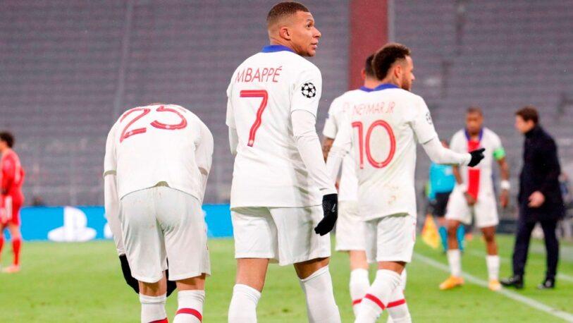 PSG venció al Bayern en un festival de goles