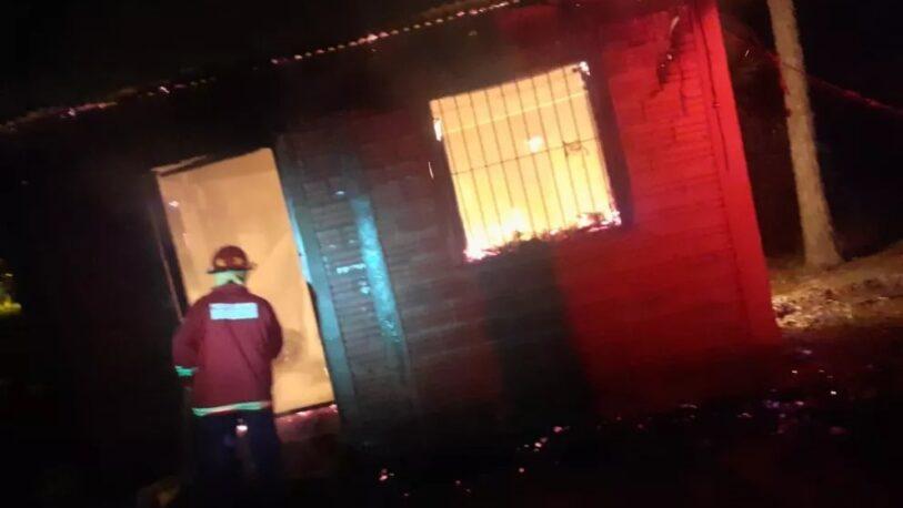 Se registraron dos incendios durante esta madrugada en Itaembé Guazú