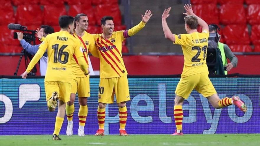 Barcelona es campeón de la Copa del Rey y Messi fue ...