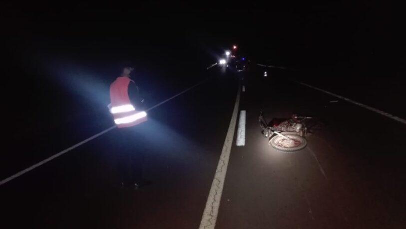 Salto Encantado: chocaron dos motos; un muerto