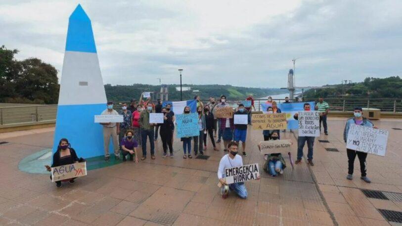 Por la falta de agua, realizarán una nueva manifestación en Puerto Iguazú