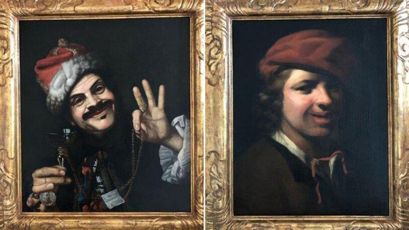 Alemania: Hallaron dos valiosas pinturas del siglo XVII en un contenedor de basura