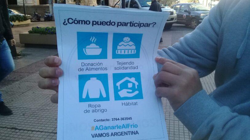 """""""#AGanarleAlFrío"""": una campaña solidaria para acobijar a quienes lo necesitan"""