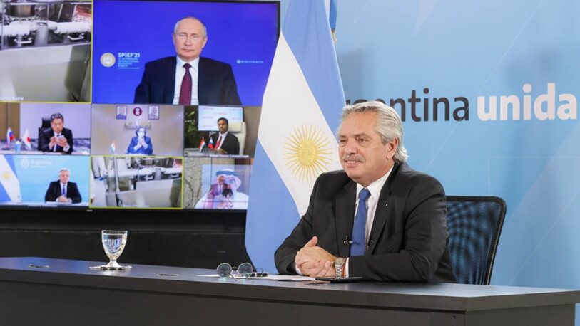 Alberto defendió la carta de Nicolini a Rusia, por las millones de segundas dosis de vacunas Sputnik adeudadas