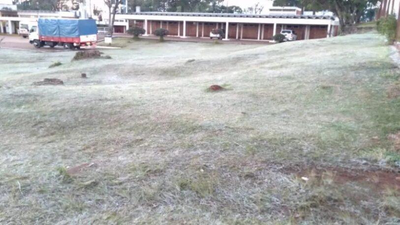 Bernardo de Irigoyen registró 2 grados bajo cero y es el punto más frío de la provincia