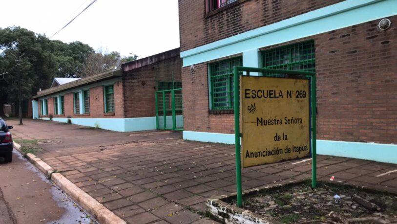 Miguel Lanús: Robo y vandalismo en la Escuela 269