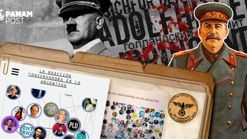 "Tildan de ""Gestapo Argentina"" al informe que expone datos privados de ""conservadores"""