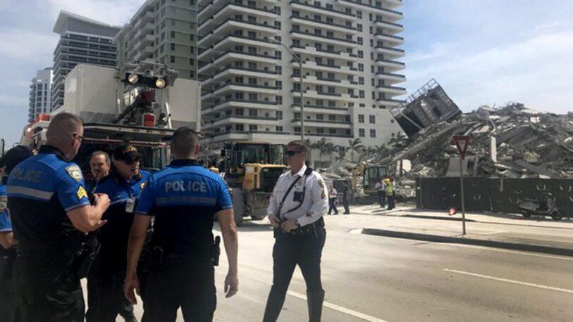 Miami: hallaron con vida a uno de los argentinos; quedan nueve desaparecidos