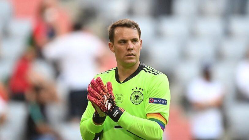 La UEFA no sancionará a Neuer por su brazalete arcoíris