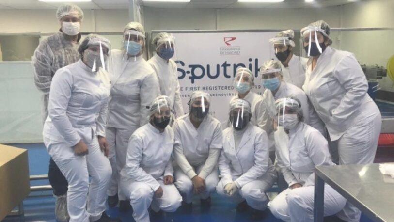 Richmond anunció que concluyó la producción de 450.000 dosis de Sputnik V