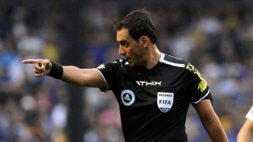 Rapallini debutó como árbitro en la Eurocopa