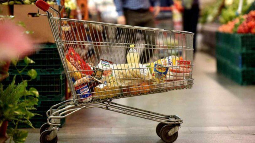 Las ventas en supermercados cayeron 2,6% interanual