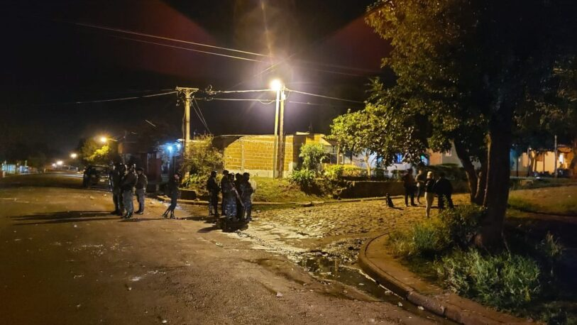 Tres mujeres detenidas por una brutal pelea en la Chacra 128