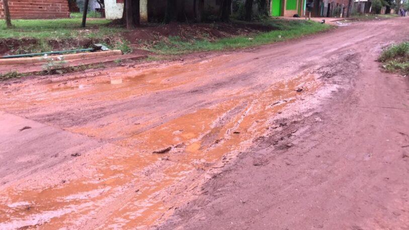 Vecinos del Bº Aeroclub solicitan que se concluyan los arreglos de las calles