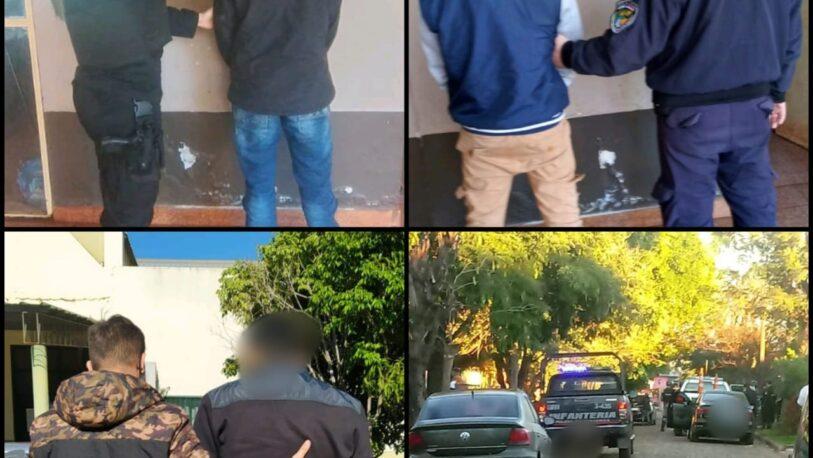 Tres detenidos y un arma secuestrada por el homicidio en Barrio A3-2