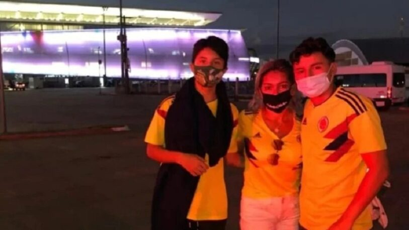 Colombianos viajaron a Brasil para ver a la selección, sin saber que no hay ingreso al público