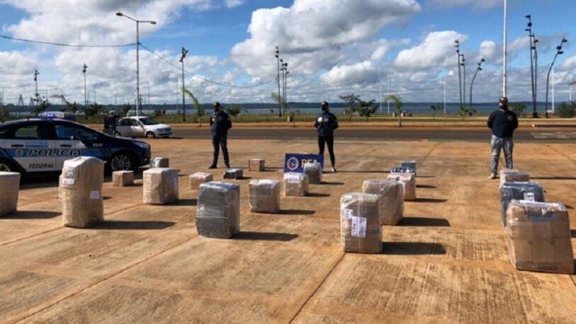 Incautaron 24 bultos con mercadería de contrabando en Posadas