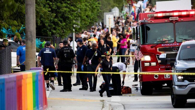 EEUU: camioneta atropelló y mató a manifestante en la marcha del Orgullo LBGTQ