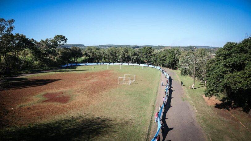 La bandera argentina más larga de Misiones será exhibida en Eldorado