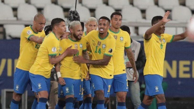 Copa América: Brasil goleó a Perú y es líder del Grupo A