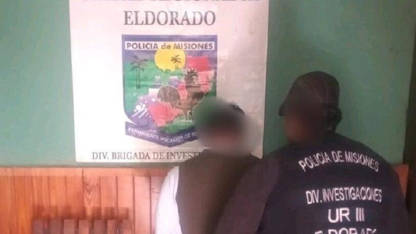 Detuvieron a un hombre por el incendio de dos móviles policiales en Eldorado