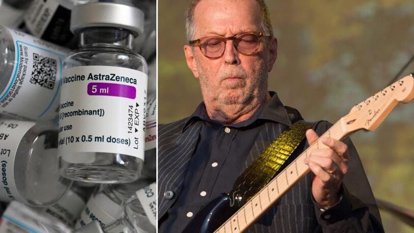 Clapton revela que sus amigos ya no le escriben por oponerse a la vacuna antiCovid