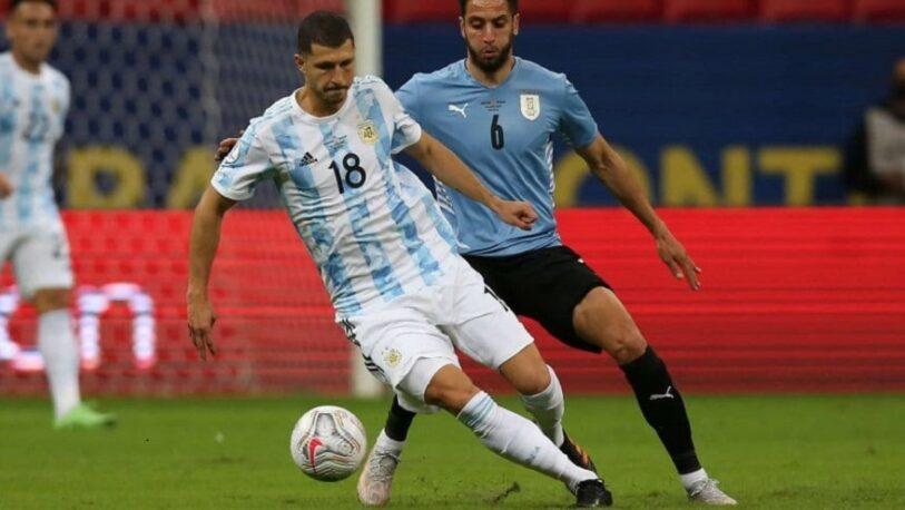 Copa América: Argentina le ganó a Uruguay por 1 a 0