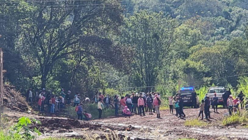 Denuncian intento de usurpación en Andresito por parte de un movimiento social