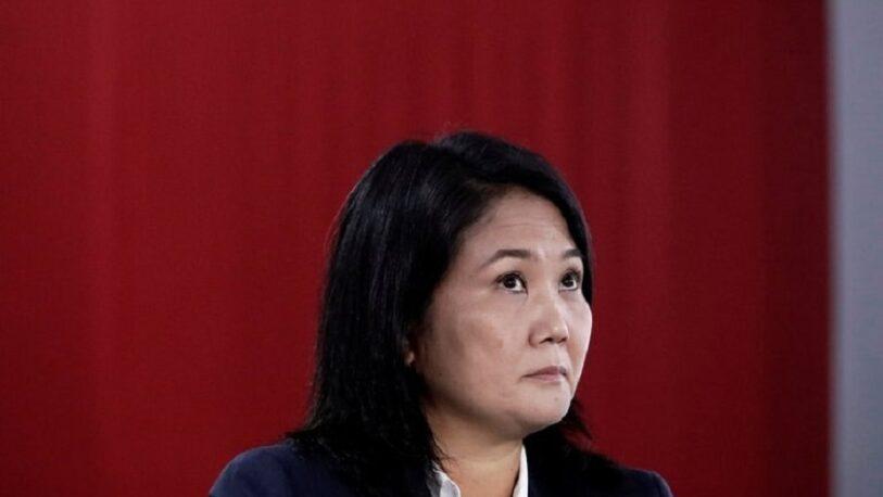 La justicia peruana analizará si abre juicio a Keiko Fujimori