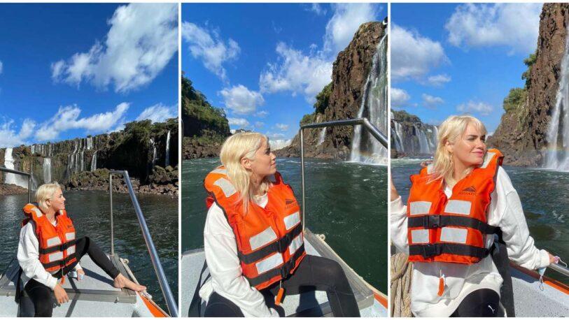 La escapada de Lali Espósito a las Cataratas del Iguazú