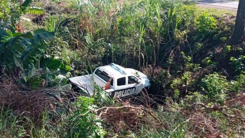 Panambí: despistó un patrullero sin chofer