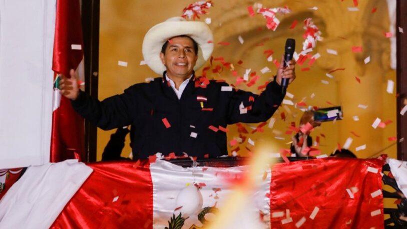 Perú: Se confirmó el triunfo de Pedro Castillo