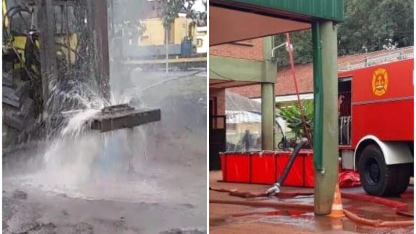 Samic Iguazú: trabajan en un pozo perforado de agua