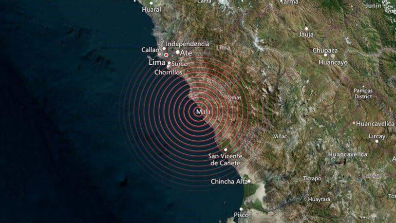 Sismo de 6 grados sacudió Lima sin dejar víctimas