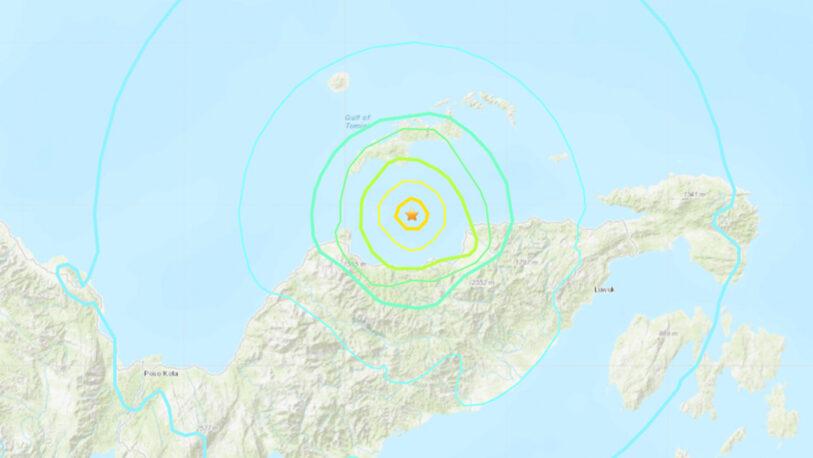 Se registró un sismo de 6,2 frente a las costas de Indonesia
