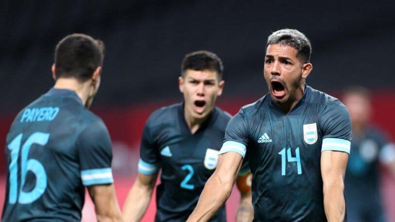 Fútbol olímpico: Argentina se recuperó con una victoria ante Egipto