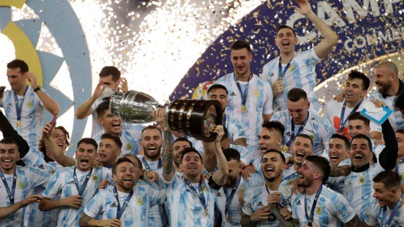 ¡Argentina es campeón de la Copa América!