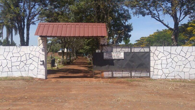 Colapso: cierran una calle para ampliar el cementerio de San Vicente