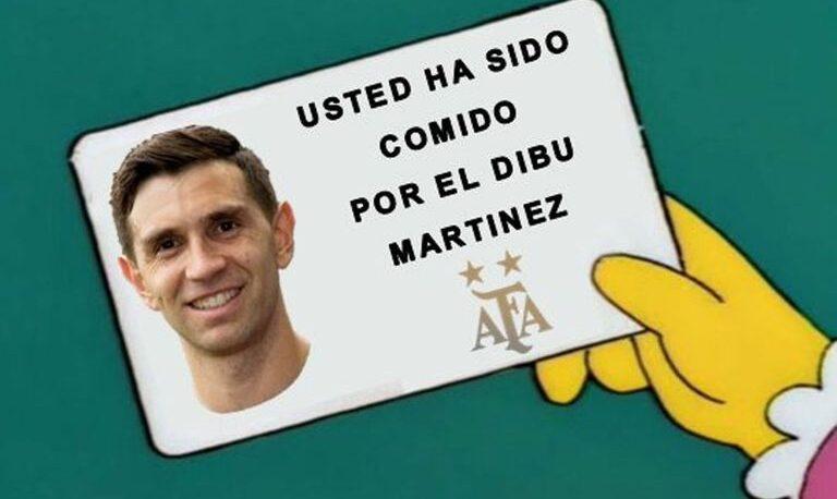 Dibu Martínez se comió a Colombia en los penales y los memes lo coronaron como héroe