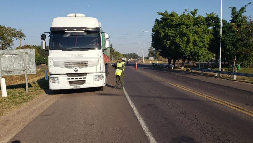 Corrientes: decomisaron 196 toneladas de soja que eran trasladadas en siete camiones