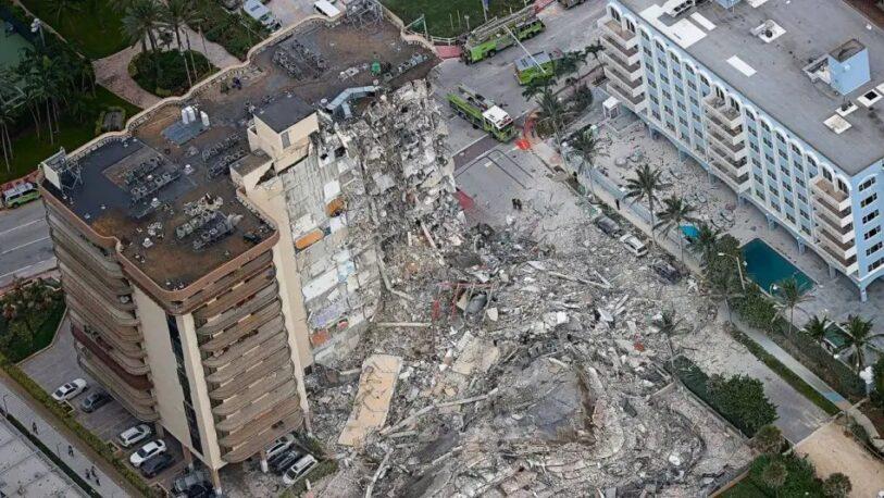 Derrumbe en Miami: indemnizarán con 150 millones de dólares a las víctimas