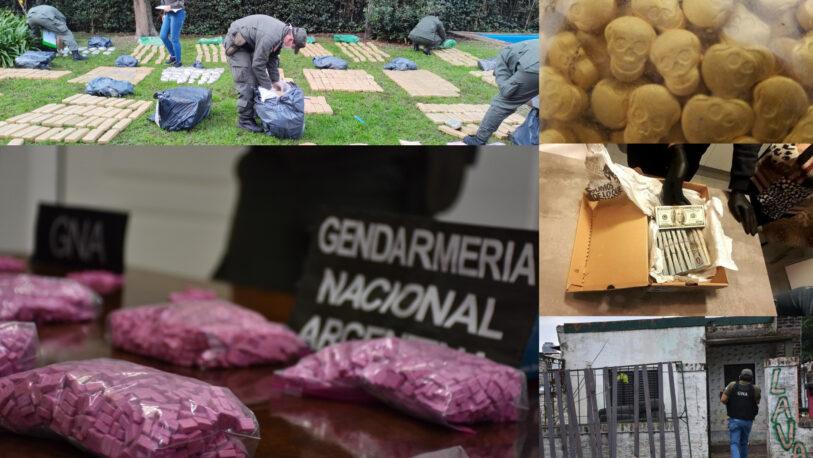 Desarticulan organización ilícita que comercializaba drogas desde Paraguay
