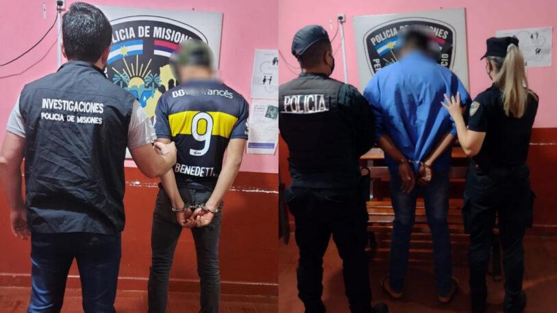 Detuvieron a dos hombres por hechos de violencia en San Vicente