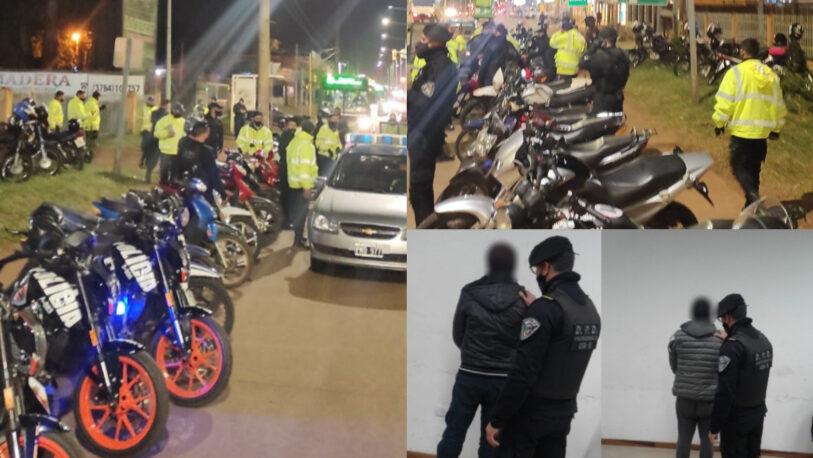 Garupá: los detuvieron por intentar atacar a policías en un control vial